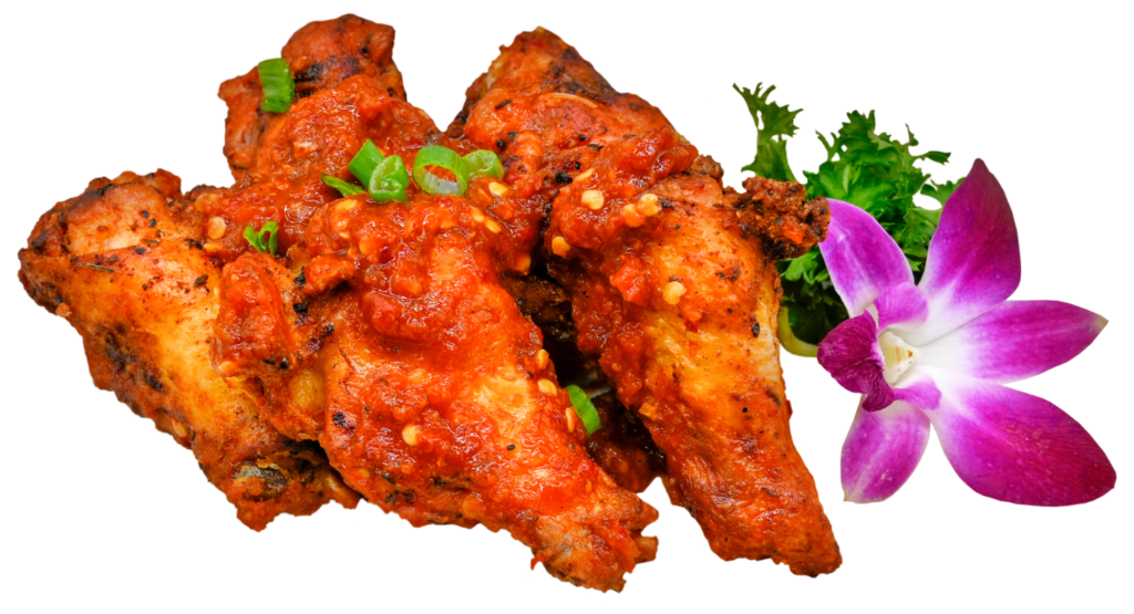 Picture of Chili Garlic Smoked Wings